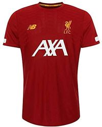 af521c9ad3d69 Liverpool Fc Red Short Sleeve Polyester S Football Training Pre Game  T-shirt 2019/2020 Lfc Official