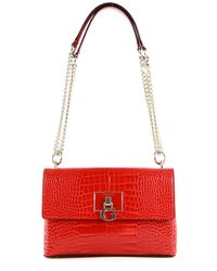 Guess - Carabel Convertible Xbody Flap Red - Lyst