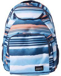 Roxy Shadow Swell Backpack - Blue