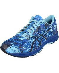 Asics Gel-Noosa Tri 11 Hombre Running Trainers 1011A926 Sneakers Zapatos - Azul
