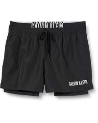 Calvin Klein Short Jammer Combi Boxer - Noir