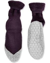 Falke Cosyshoe W So Slipper Sock - Purple