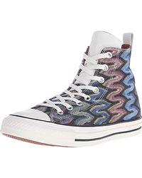 Converse Unisex-Erwachsene A/s Prem Hi Cotton Missoni Hightop Sneaker - Mehrfarbig