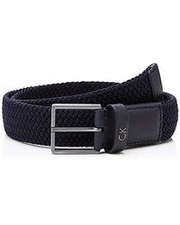 Calvin Klein Cinturón para Hombre - Azul