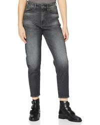 G-Star RAW - Janeh Ultra High Wasit Mom Ankle Straight Jeans - Lyst