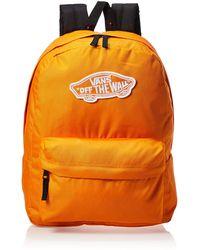 Vans Ss20 Realm Backpack, Os - Orange