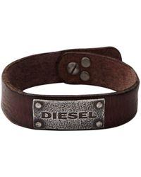 DIESEL Armband DX0570040 - Braun