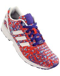 best loved 77505 9867d Zx Flux Floral Uomo Codice:b34518 - Red