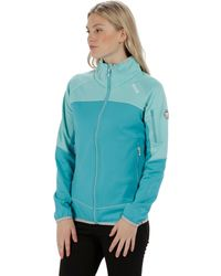 Regatta S/ladies Sumatra Iii Full Zip Softshell Jacket Coat - Blue