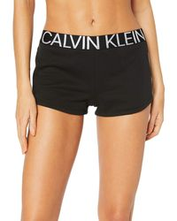 Calvin Klein Damen Shorts Sleep - Schwarz