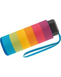 Benetton Benetton Pocket Umbrella Ultra Mini Multistripe Rainbow - Multicolour