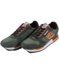 Napapijri Shoes Trainers Man Np0a4dwfcv Green