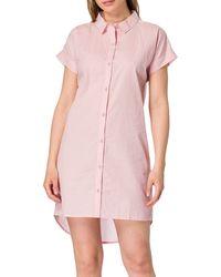Esprit CANDITA Cas NW COO Nightshirt Chemise de Nuit - Rose