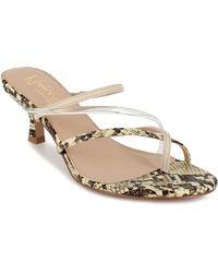 Nanette Lepore Dahlia Heeled Sandal - Multicolor