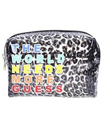 Guess Lolly Top Zip Bag Organiser - Multicolour