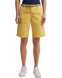 Esprit 031EE1C302 Shorts - Jaune