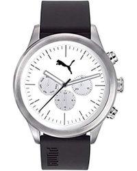 PUMA - Reloj Multiesfera para Hombre de Cuarzo con Correa en Plástico  PU104281003 - Lyst f339fab70b5f