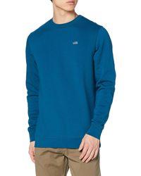 Vans Basic Crew Fleece Sweatshirt - Blue