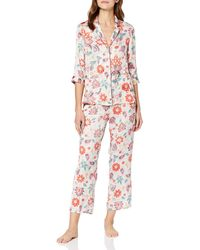 Women'secret Secret Trendy Tapestry TT White CLAS PJ FR Conjuntos de Pijama - Multicolor