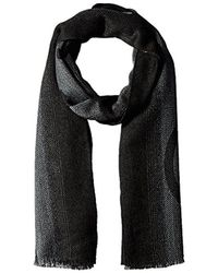 CALVIN KLEIN 205W39NYC - Ombre Oversized Logo Scarf - Lyst