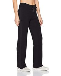 Marc New York Performance Womens Textured French Terry Open Bottom Pant