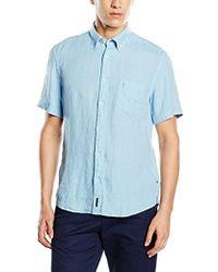 Marc O'polo - Linen Short Sleeve Shirt - Lyst