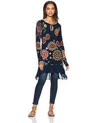 Desigual - Donovan Woman Flat Knitted Thin Gauge Pullover - Lyst