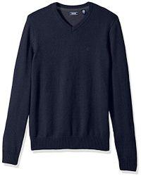 Izod - V-neck 7gg Long Sleeve Sweater - Lyst