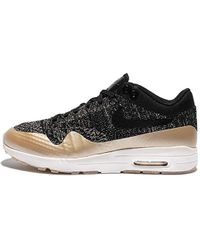 Nike S Air Max 1 Ultra 2.0 Fk Metallic Running Trainers 881195 Trainers Shoes - Multicolour