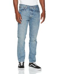 Levi's 501 Tapered Fit Jeans - Blue