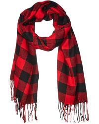 Amazon Essentials Blanket Scarf - Red