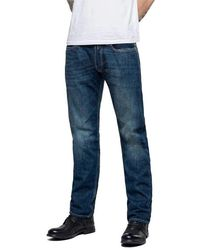 Replay Newbill Comfort Leg Jeans - Blue