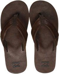 Billabong Seaway Classic Beach & Pool Shoes - Brown