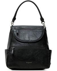 Desigual Pu Backpack - Black
