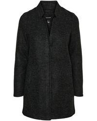 Vero Moda - Vmbrushedkatrine Aw20 3/4 Jacket Boos - Lyst