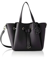 Guess Digital Drawstring Bag Black - Noir