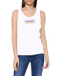 Tommy Hilfiger - Tjw Logo Tank Vest Top - Lyst