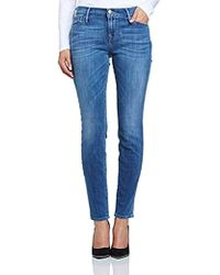 True Religion - Abbey High Rise Skinny Jeans - Lyst