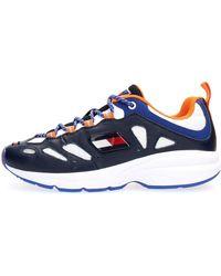 Tommy Hilfiger EM0EM00413 Sneakers Navy 42 - Bleu