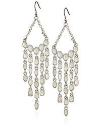 Lucky Brand - S Mother-of-pearl Chandelier Earrings - Lyst