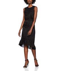 INTROPIA Vestido para Mujer - Negro