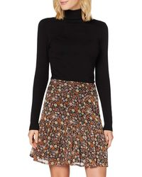 Scotch & Soda Shorter Length Printed Skirt - Multicolour