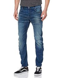 G-Star RAW Arc 3D Slim Fit' Jeans Uomo - Blu