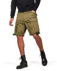 G-Star RAW Rovic Zip Relaxed 1-Length Shorts Pantaloncini - Verde