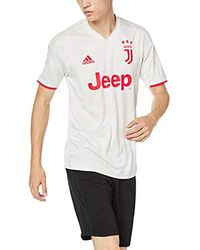 brand new ac56e f42f5 Juventus Away Short-sleeved Football Jersey, , Dw5461 - White