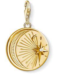 Thomas Sabo Pendente a medaglione Donna - 1665-414-39 - Metallizzato