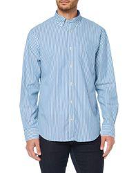 GANT - The Broadcloth Stripe Reg Bd Casual Shirt - Lyst