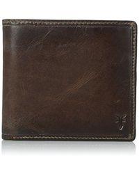 Frye - Logan Antique Pull-up Billfold Wallet - Lyst