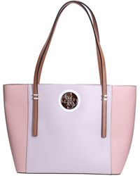 Guess Open Road Tote Stone Multi - Rose