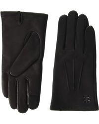 Calvin Klein Gloves Leather W/Box Ensemble d'accessoire d'hiver - Noir